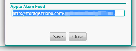 AtomFeed Triobo